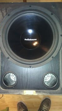 "15"" Powered Subwoofer (AudioSource) El Centro, 92243"