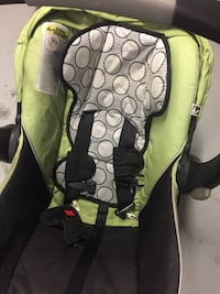 Baby's green and black car seat Mississauga, L5B