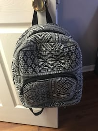 black and white tribal print backpack Frederick, 21702