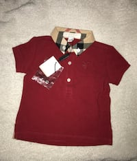 Burberry shirt for 6 month old  Toronto, M3L 2N4