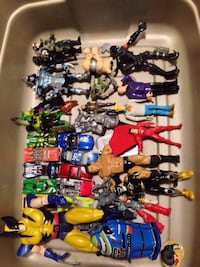 Vintage toys /action figures lot Condition: good condition Selling all together As is Best offer. Mississauga, L5J 1V6