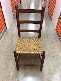 brown wooden framed brown padded chair Washington, 20002