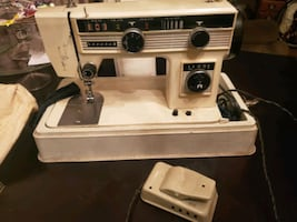 Mores sewing machine