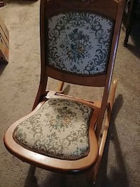 Antique Folding Rocking Chair Carved Newport News, 23608
