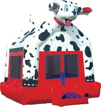 Used Dalmatian Bounce House Spring Valley