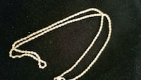14k gold plated rope chain brand new 2mm 5 grams Halifax