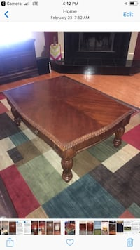 Coffee table & 2 side tables. Set of 3 Geneva, 32732