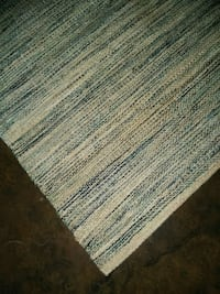 white and brown area rug Keller, 76248