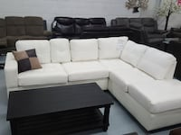 modern sectional on clearance REVERSABLE