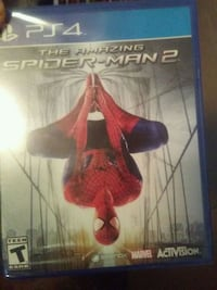 Sony PS4 Spider-Man 2 game case Dinuba, 93618