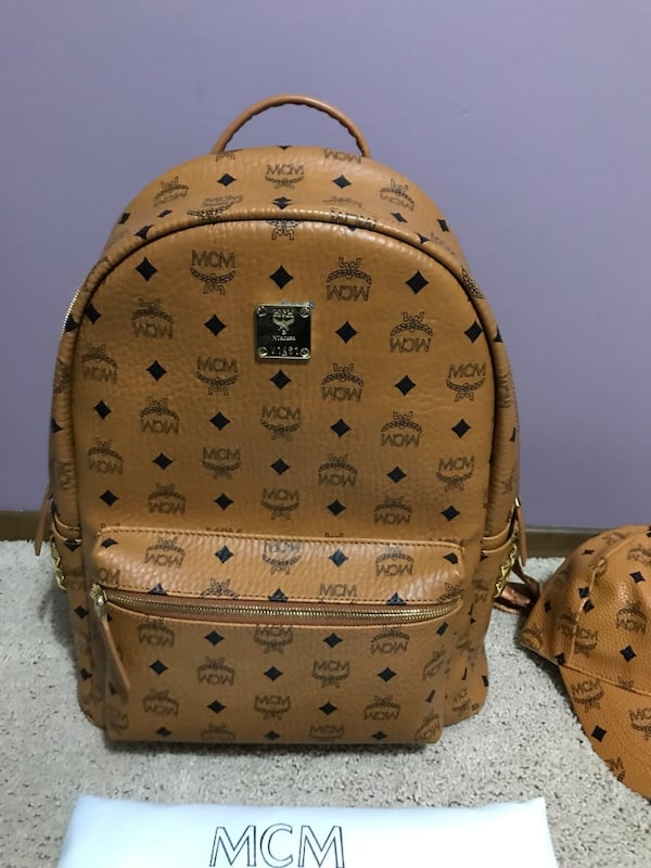 FREE MCM HAT With purchase of Mcm Backpack dfdaba22-10a1-4593-a0c6-0ebd77e1b49d