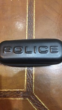Black Police pebble leather case Stafford, 22556