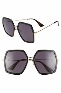 Gucci sunglasses - oversized square frame metal Vaughan, L0J 1C0