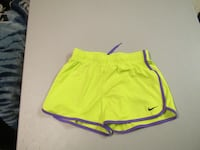 Girls Yellow Nike Shorts Size Medium Fort Saskatchewan