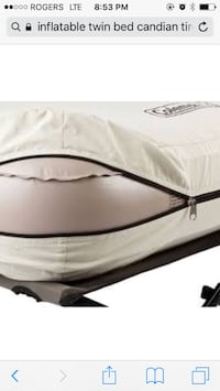 Brand new inflatable twin bed Markham, L6C 0B3