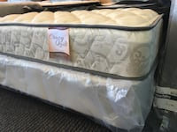 Brand New Twin Size Plush Mattress and Box Spring Burlington, 27215