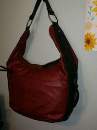 Red Leather Purse Victoria, V8T 3T2