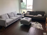 Modern couch ottoman set for sale  Los Angeles, 90012