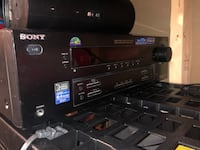 Sony Surround Sound Amp Speakers and Bass Box Oakville, L6M