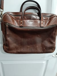 Fossil Leather Laptop / Briefcase Vancouver, V5S 1T7