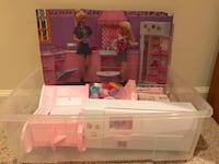 Barbie Kitchen Set Potomac