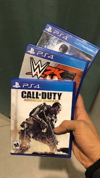 Sony PS4 Call of Duty Advanced Warfare game     1 game for $15 2 game for $25
