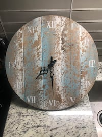 "16"" Wall Clock (Rustic) Richmond Hill, L4C 0X4"