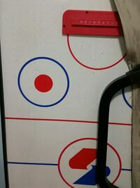 White and black air hockey table Brampton, L6S 2S2