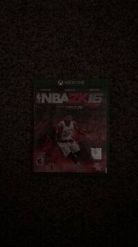 Xbox one nba 2k16 game case North Chesterfield, 23224