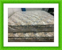 Queen 2pc mattress with box spring Silver Spring, 20906