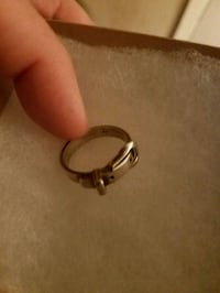 Sterling Silver Belt Ring Size 12 Livonia, 70755