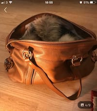 brown leather 2-way bag London, NW2 4EB