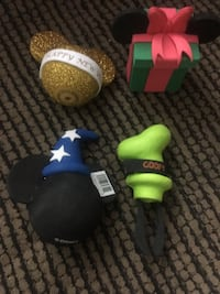 Disney Holiday-themed Antenna Balls San Jose, 95123