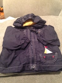 Lightly lined zip up coat size 12 months Falls Church, 22044