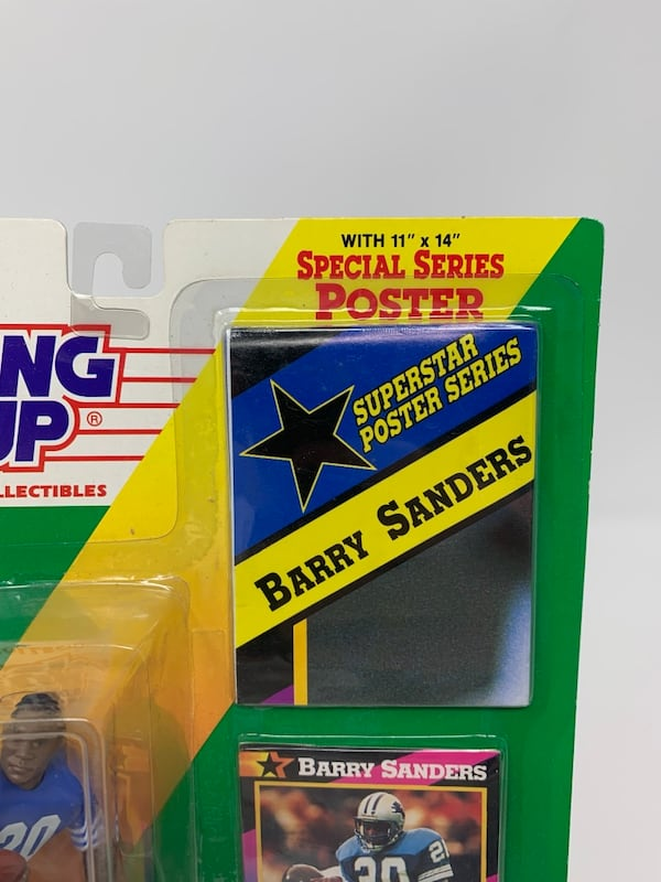 Detroit Lions/NFL Legend Barry Sanders STARTING LINEUP ACTION FIGURE bf4e867a-debe-48c9-9238-5a12ef6bd442