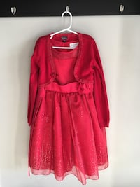 Girls size 7/8 holiday dress and shrug Guelph, N1K 1Y7