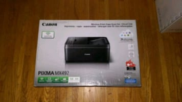 Canon all in one printer MX 492