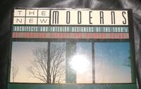 Vintage Hardcover THE NEW MODERNS Architects and Interior Designers 3750 km
