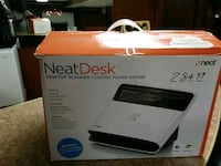 black HP Envy desktop printer box 45 mi