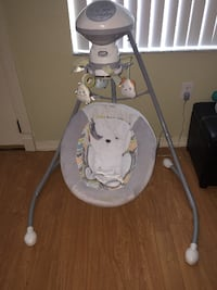 baby's gray and white cradle n swing TAMPA