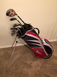 Wilson Golf Clubs Set Adams Driver Nike Stand Bag Queen Creek, 85142