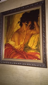 Real painting wit frame  Glen Cove, 11542