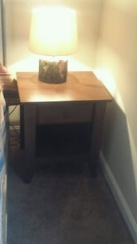 rectangular brown wooden table with chairs Dickerson, 20842
