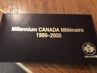 Coin collection from 1999-2000 Brampton, L6S 5E6