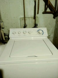 white top-load clothes washer Nottingham, 03290