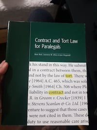 Contracts and Torts for Paralegals
