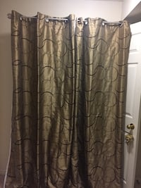"2 Shower curtains - very excellent condition - new  size 52""x85"" Vaughan, L4L 7G4"