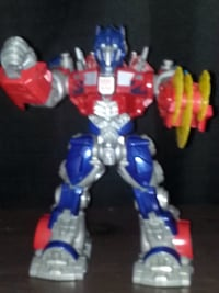 blue, red, and white plastic toy Paramount, 90723