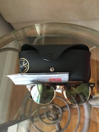 New Ray ban clubmaster sunglasses 24 km