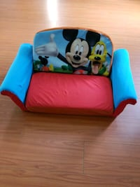 blue and red Mickey Mouse sofa chair Miami, 33196